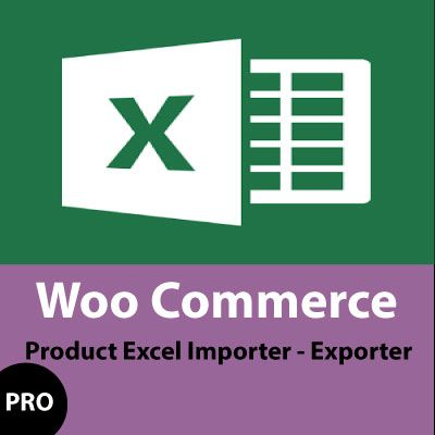 product excel import export PRO for woocommerce