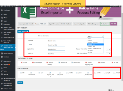 Product Bulk Edit & Product Excel Importer for WooCommerce