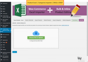 PRODUCT EXCEL IMPORTER DRAG AND DROP FEATURE