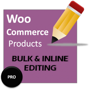 woocommerce product bulk edit and inline editing