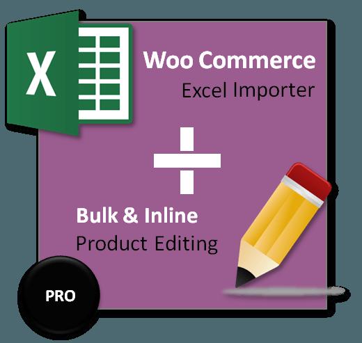 Woocommerce Product Excel Importer & Bulk Editing PRO