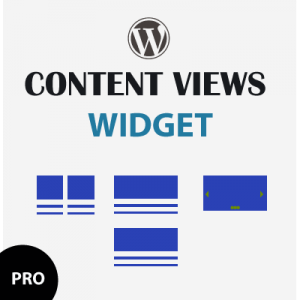 wordpress conent views widget pro