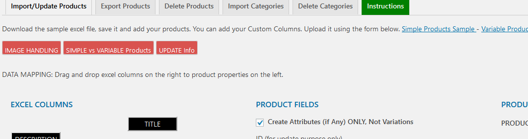 Checkbox-attributes-simple-product