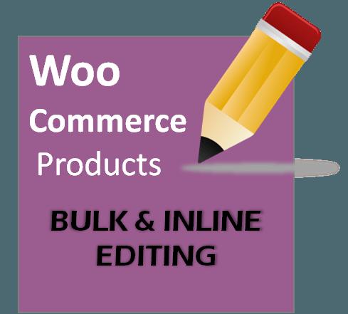 Product Bulk Editing Plugin for Woocommerce