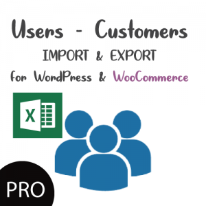 Users-Customers Import Export with Excel for WordPress & WooCommerce PRO