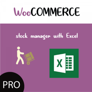 Products Stock Manager with Excel for WooCommerce