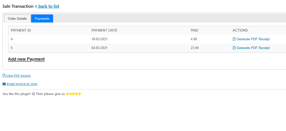 SALE-TRANSACTION-VIEW-PAGE-CRM-ERP-WORDPRESS-PAYMENTS-TAB