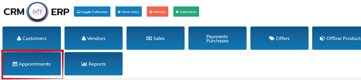 add business appointments crm erp cusiness solution wordpress